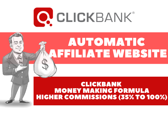 I will create high earnings autopilot clickbank affiliate website