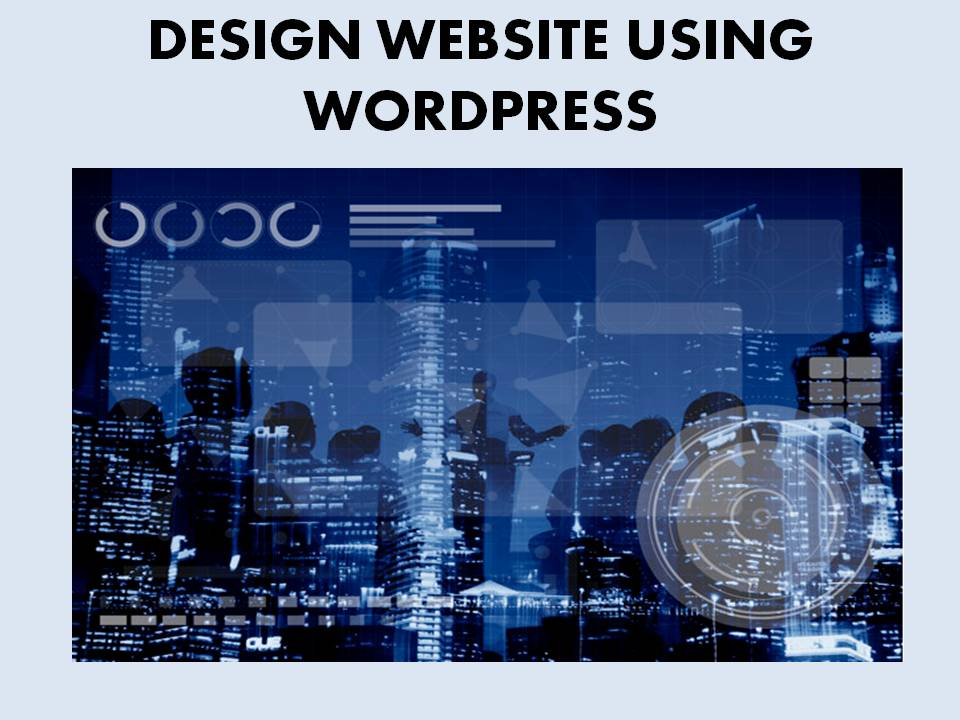 I will develop a website with wordpress