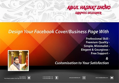 I will design engaging facebook business page.