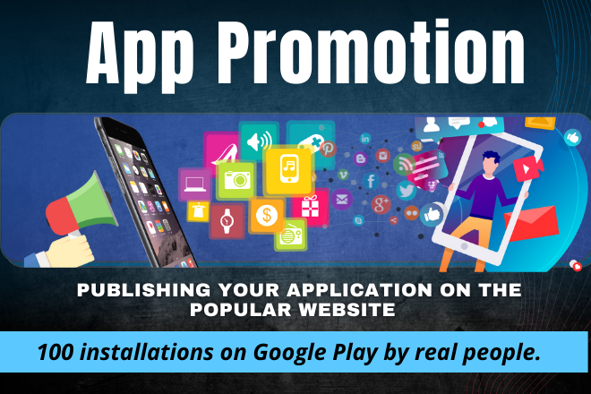 i will promote any Android Applications high traffic live app promotion.