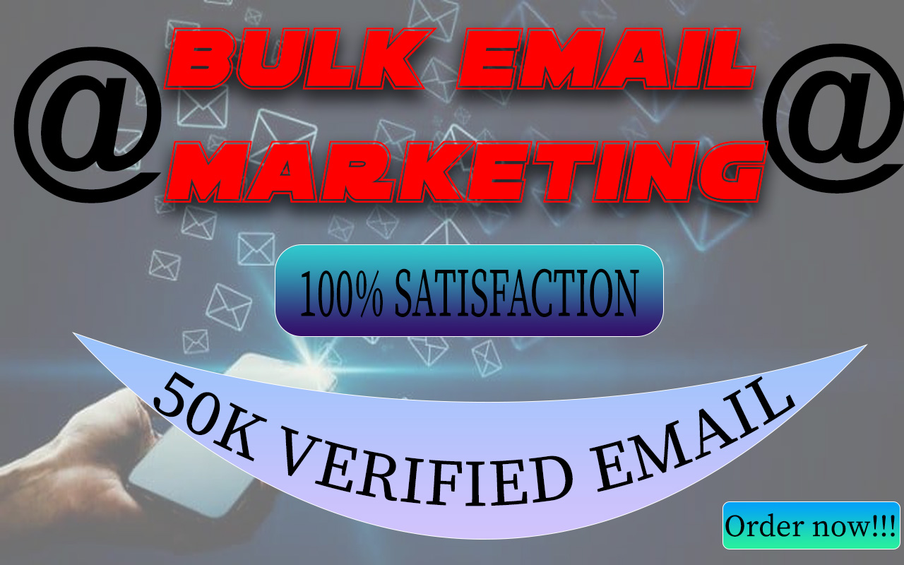 I will give you niche targeted bulk email list