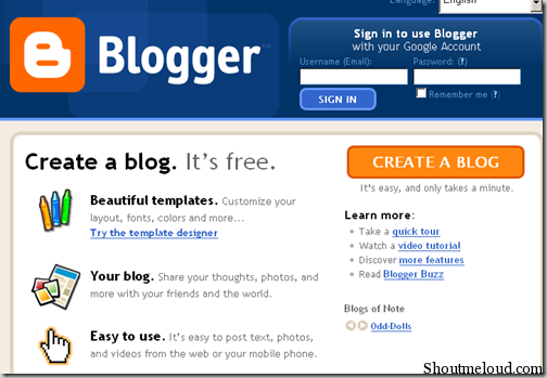 i will make a good professional blogspot website