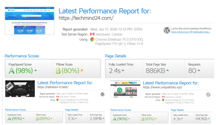 I will do wordpress speed optimization with gtmetrix