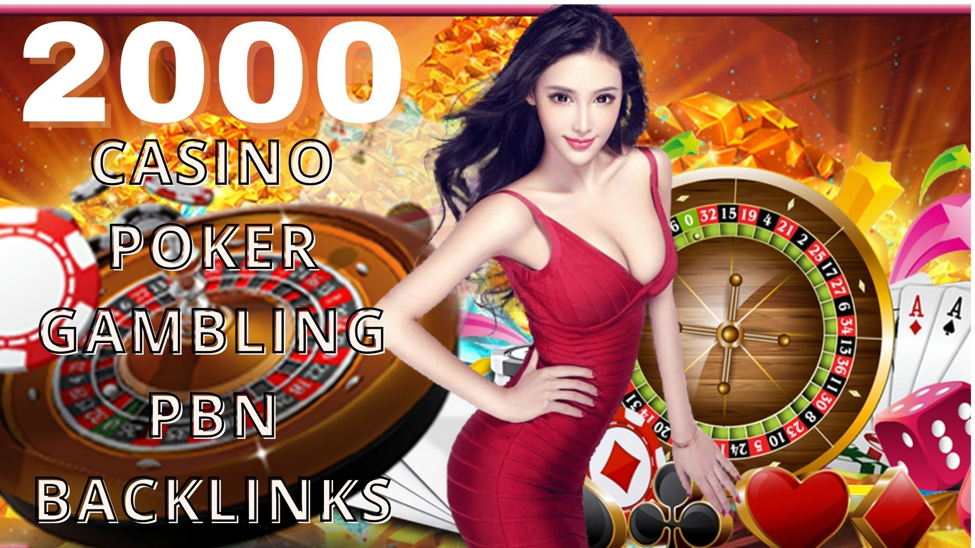 Permanent 2000+ powerfull Casino,  Gambling,  Poker,  Sports Betting High Quality Web2.0 Backlinks