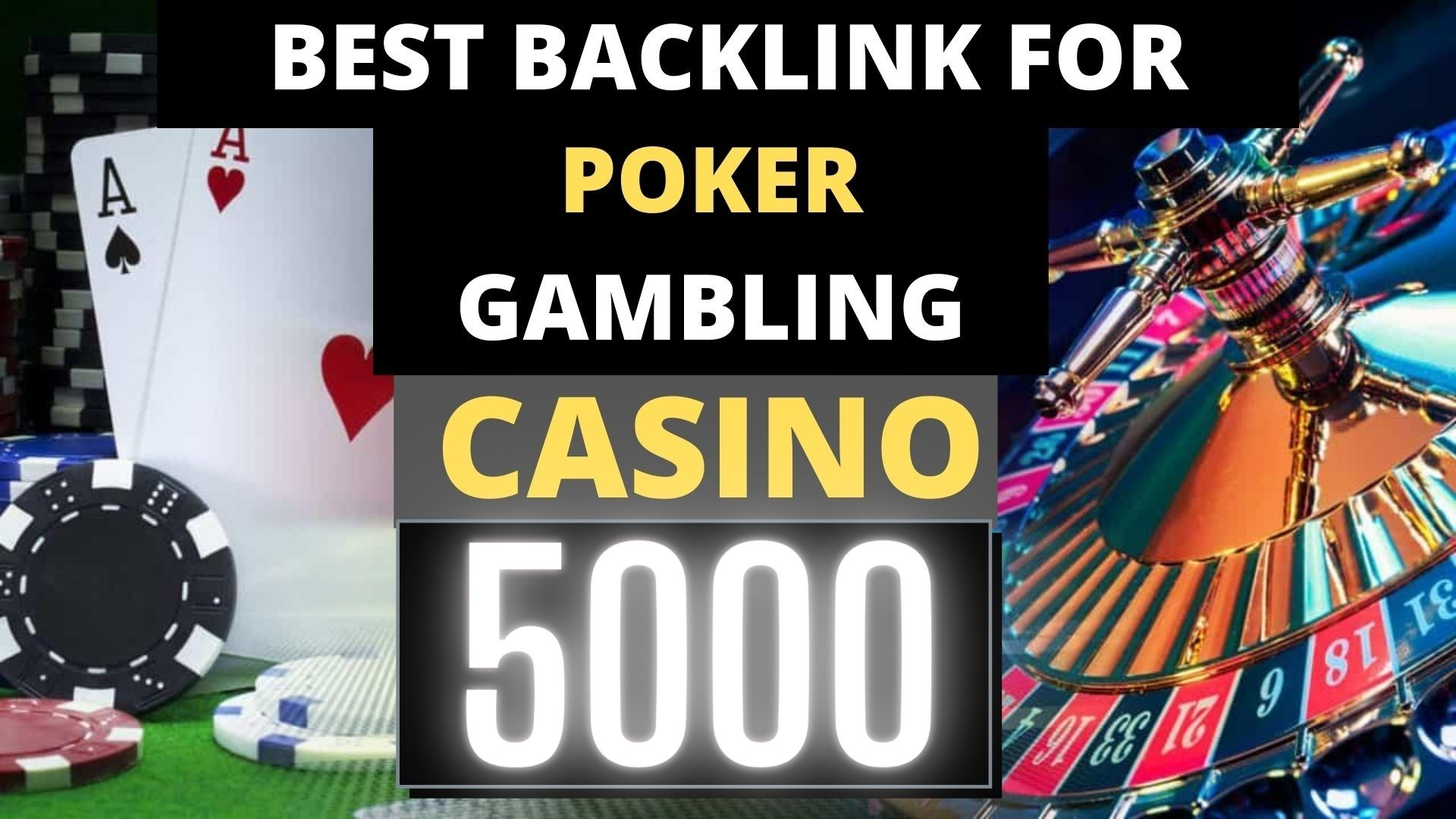 Permanent 5000+ powerfull Casino,  Gambling,  Poker,  Sports Betting related Web2.0 Backlinks
