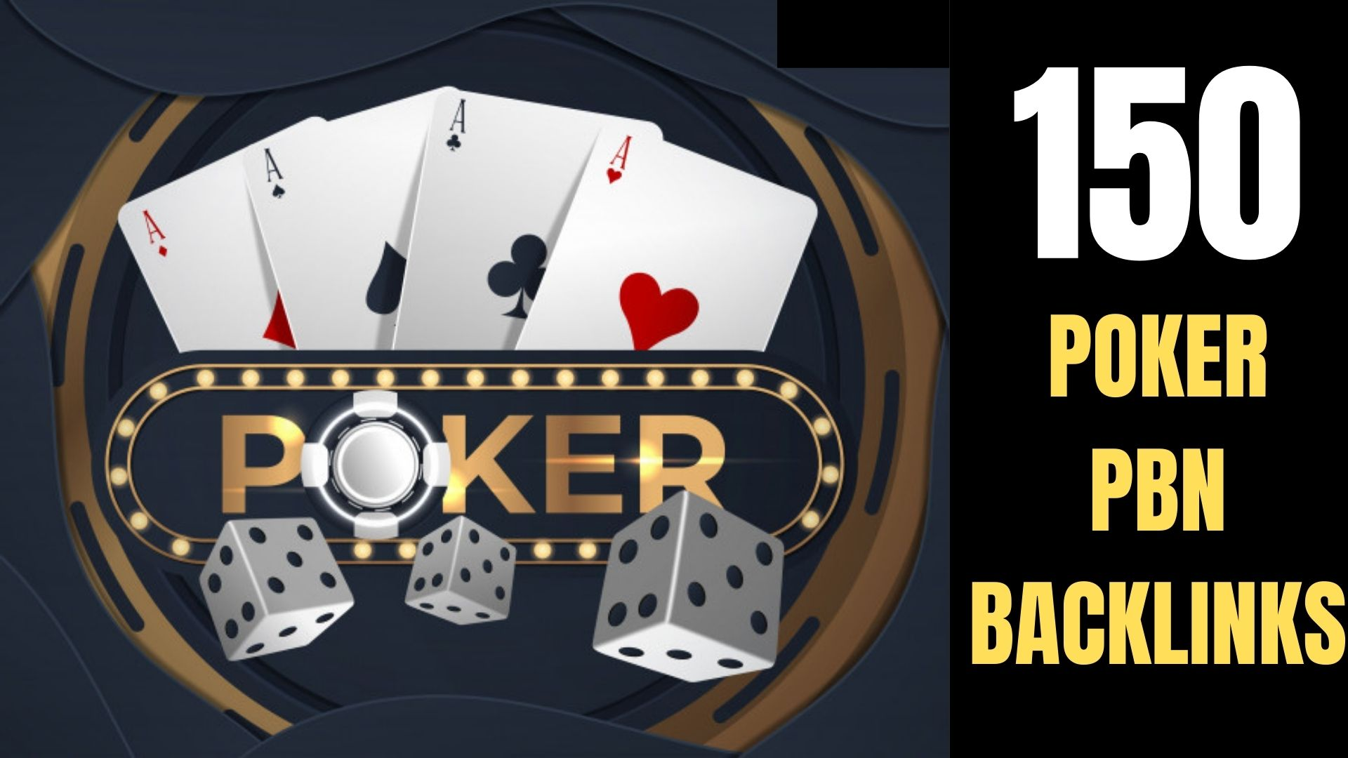 Permanent 150+ powerfull Casino,  Gambling,  Poker,  Sports Betting High Quality unique site Backlinks