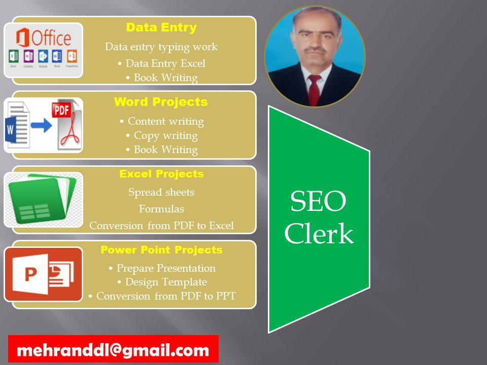 Data Entry Master compltion of projects within 3 days with unlimited changes
