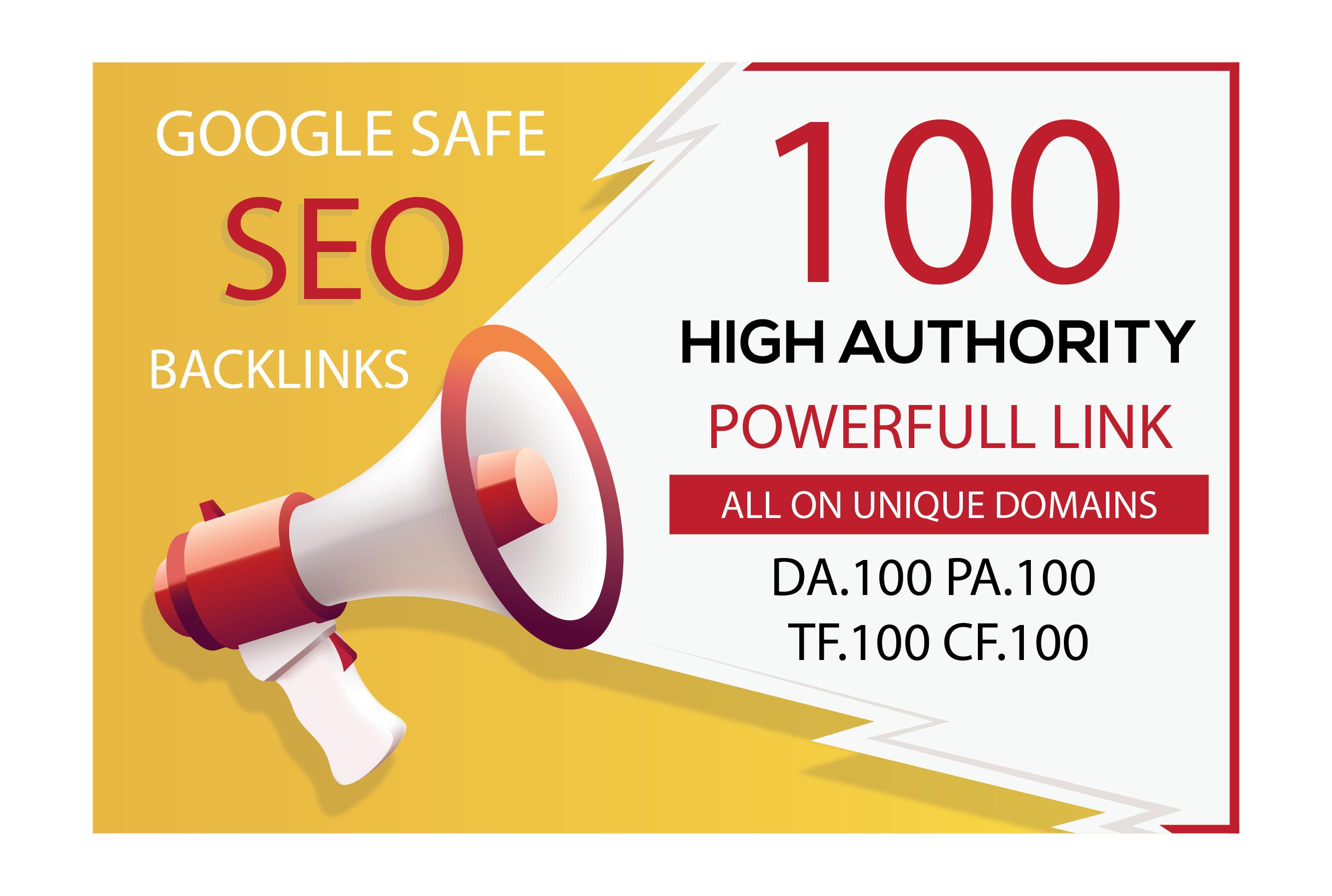Manually Do 100 Unique Pr10 Seo Backlinks On Da100 Sites