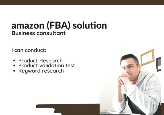 I will do in-depth amazon fba product research,  evaluation of the product for amazon
