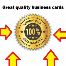 Business Card designer!! %100 guaranteed and %100 refundable