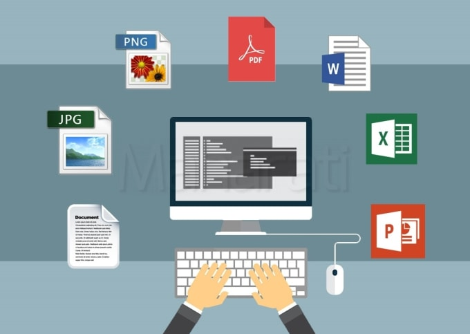 I will convert PDF to word, PDF to Excel, image/scanned page to word/excel knowledge entry work