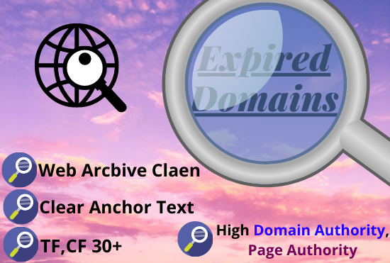 I will find niche relevant expired domain service with high DA,PA