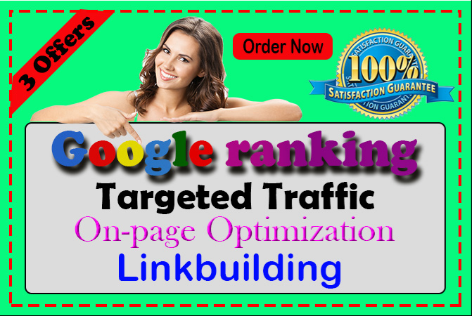 I will provide you guaranteed google First-page ranking with best linkbuilding service