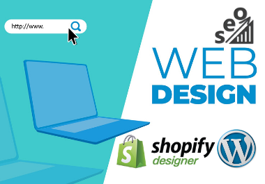 I will create a business shopify ecommerce responsive wordpress website