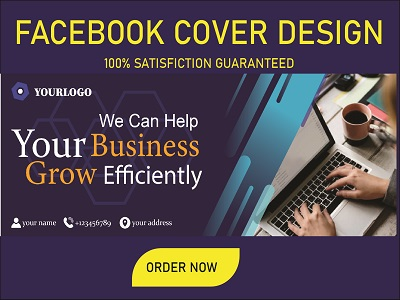 I will design quality 1 facebook cover photo or any social media banners