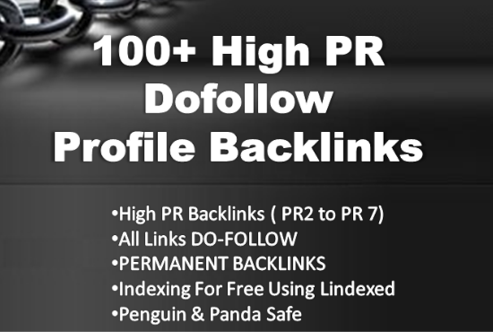 I will do 20 HQ dofollow profile backlinks and trust links manual work