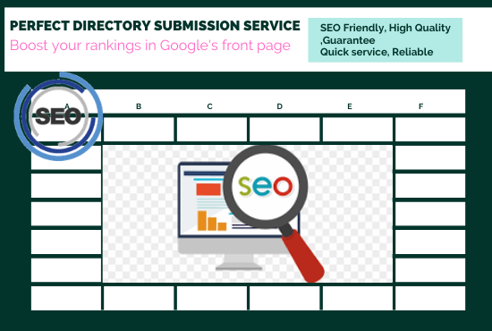 100++PR directory submission service And rankings in Google's front page