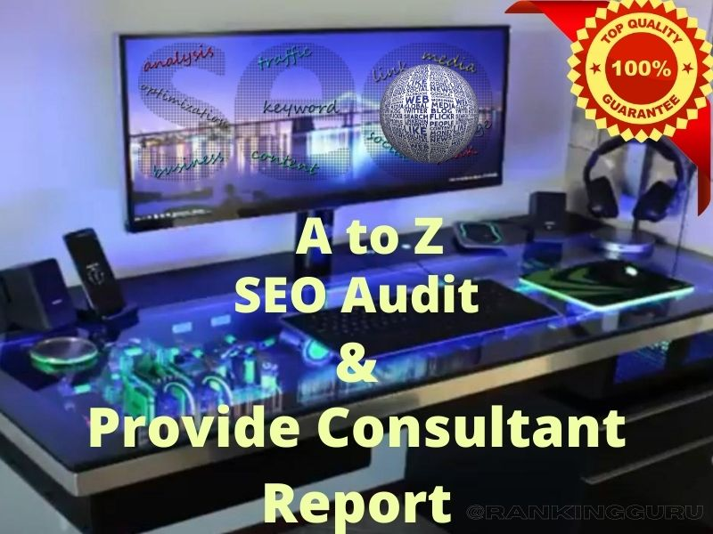 I will provide a Complete On Page SEO Audit Report for any website