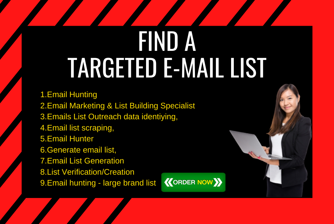 5K Email List building for Marketing