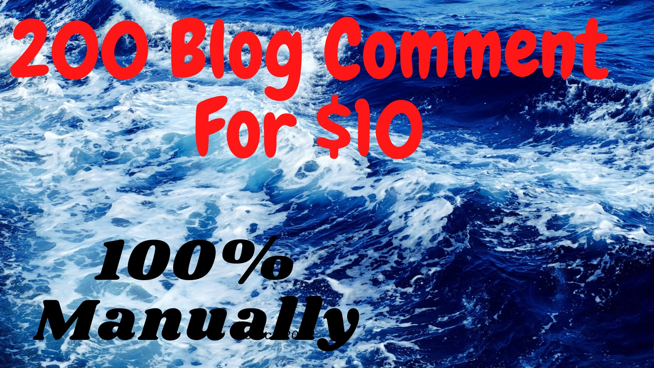 High quality niche for 100 Blog comment