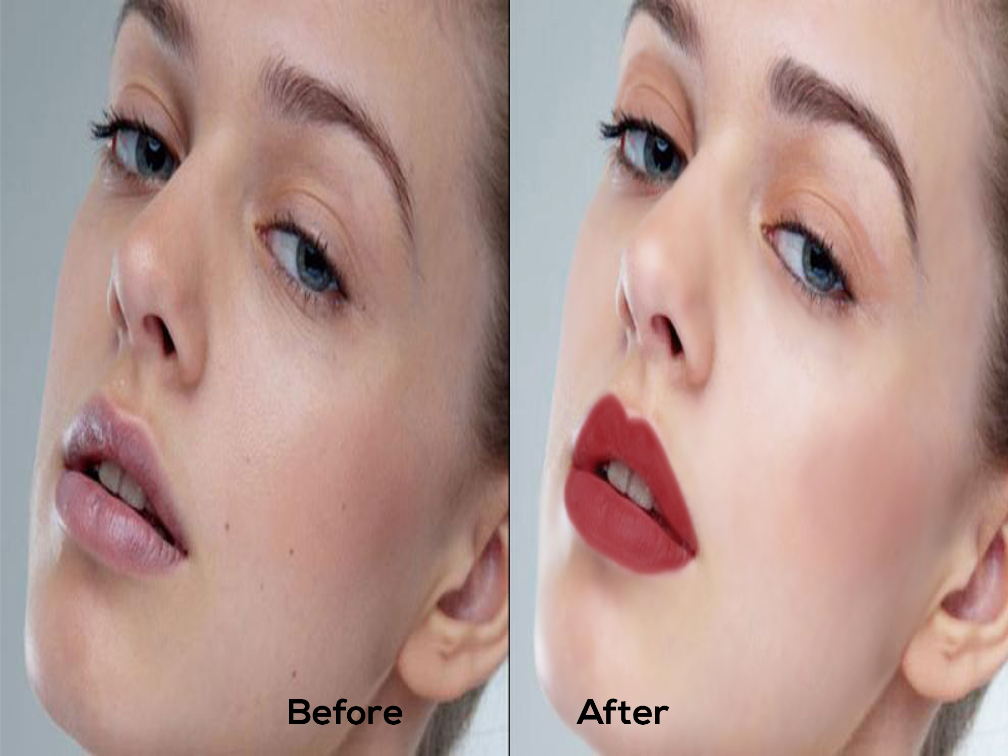 I will do professional skin retouching,  natural skin enhancement