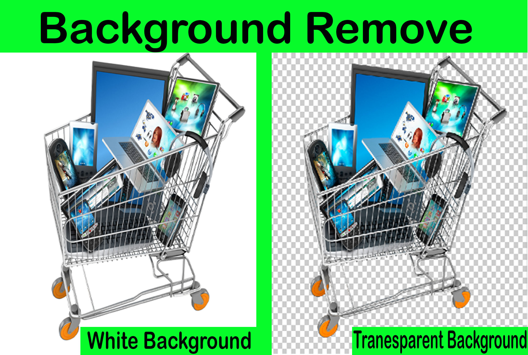 I will do any product image background remove professionally