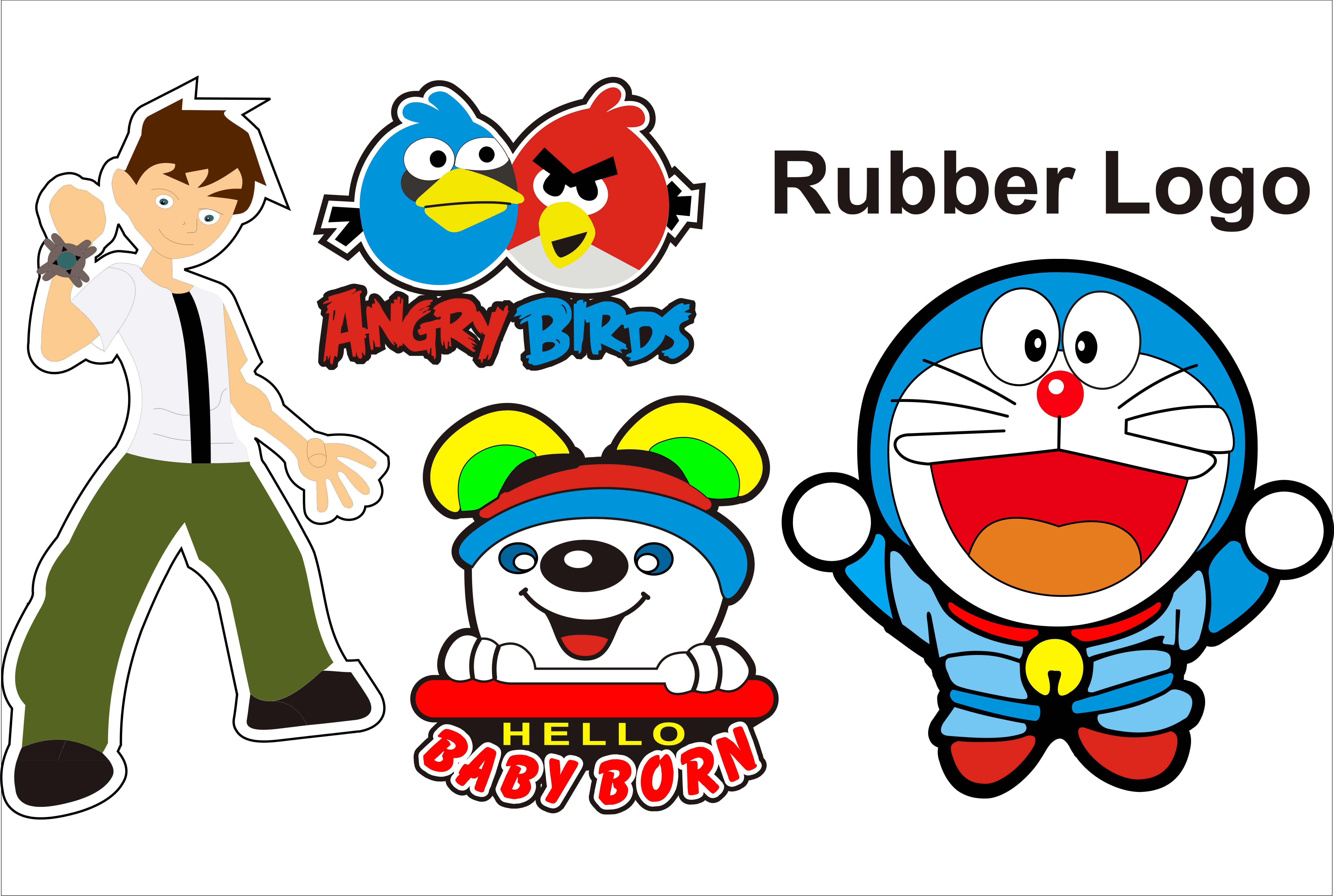 I can make Perfect Customized Rubber Logo design
