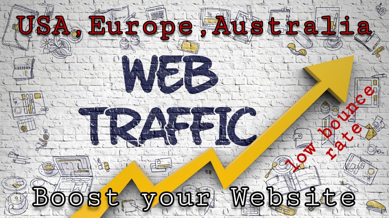 I will drive usa organic real web visitors niche targeted traffic