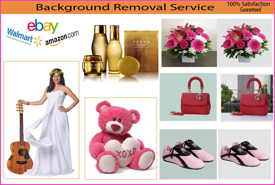 I Will remove background from product images professionally