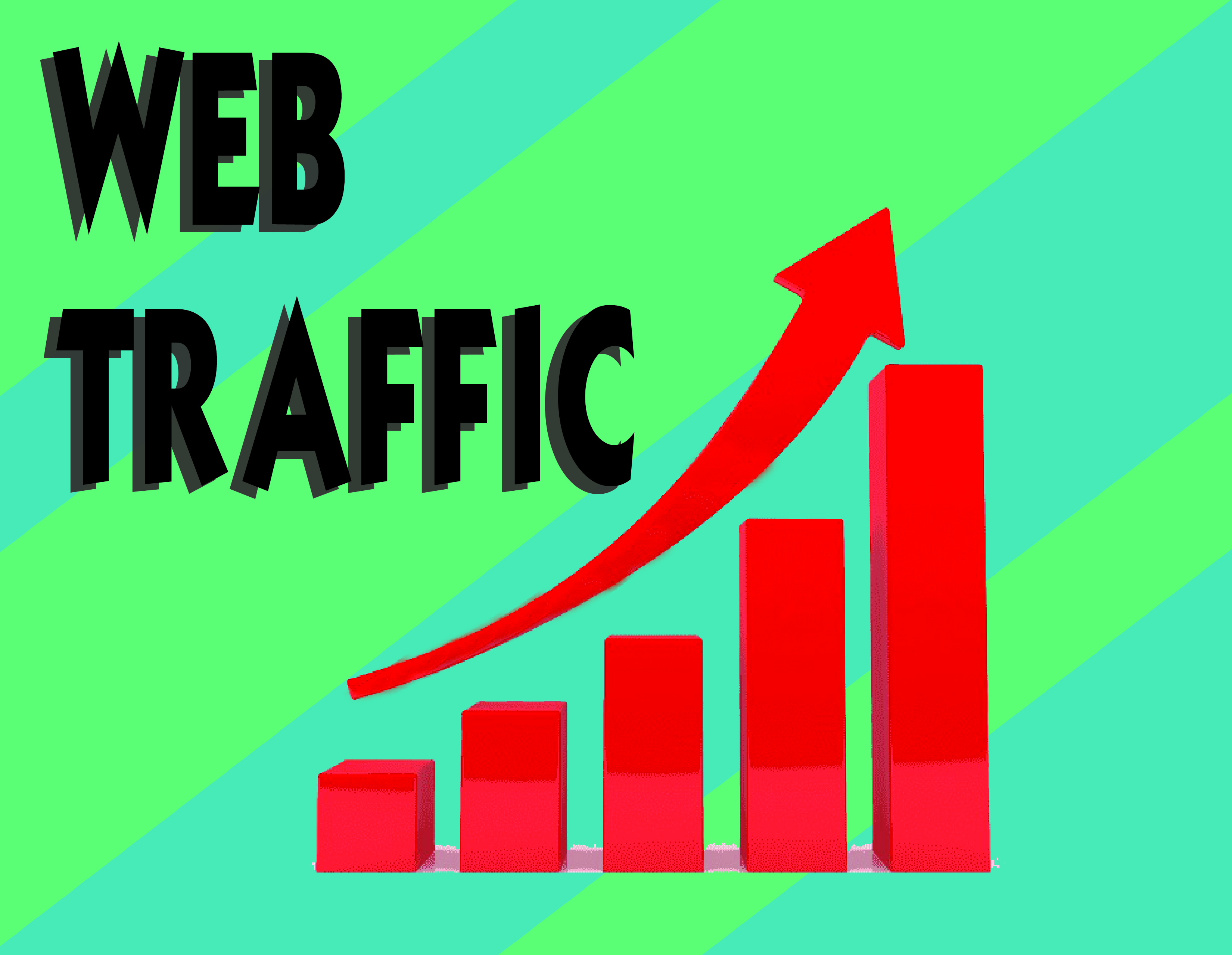 Get awesome +10k Genuine real visitors Web Traffic to your site within 24 hours at a minimum price