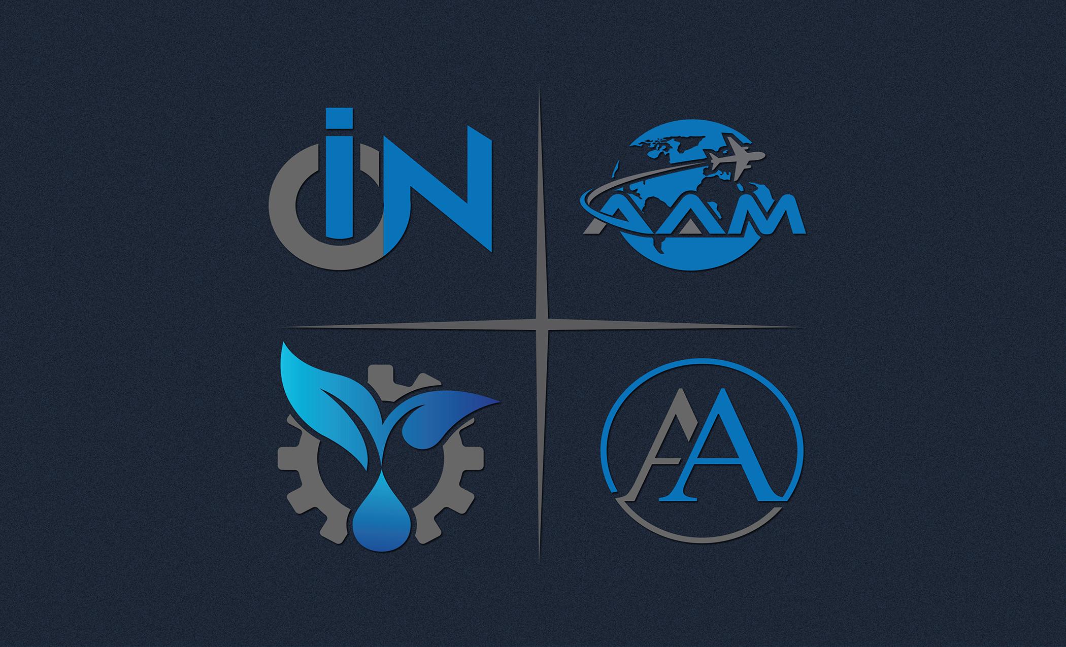 I will design an outstanding modern minimalist logo