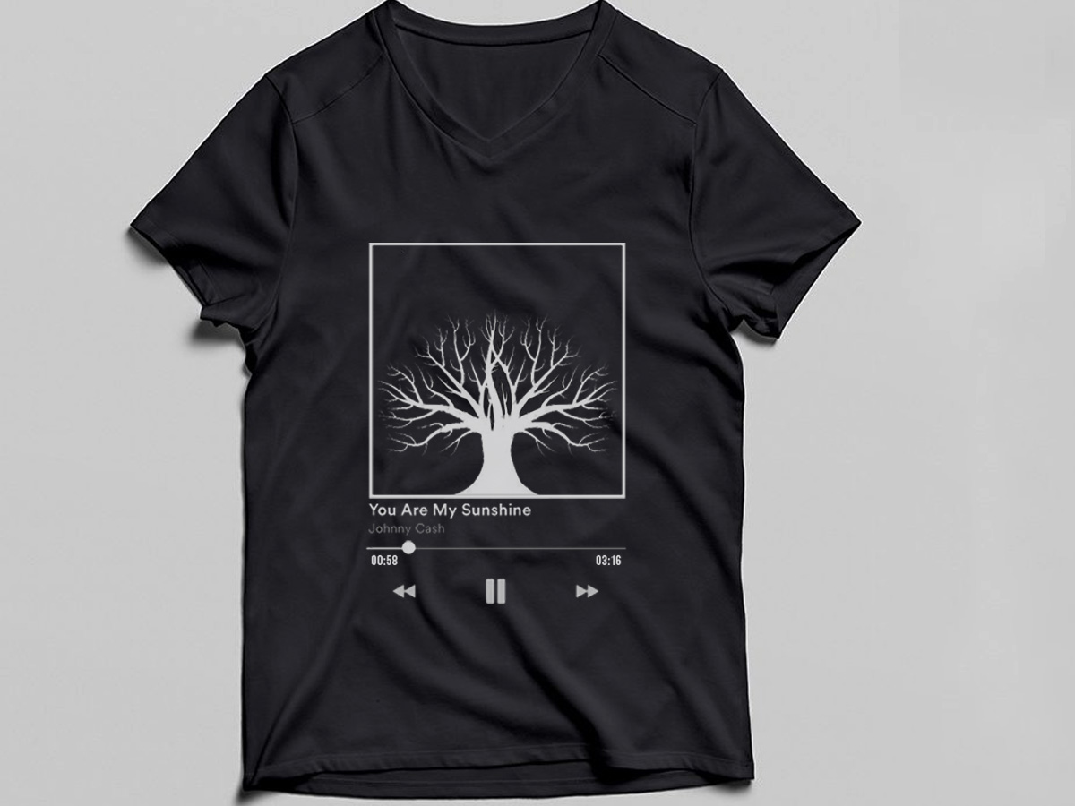 I can give you a T-shirt design at a low price with unlimited revisions