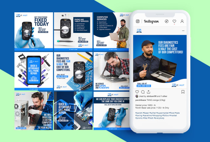I will do creative social media design, post, banner ads