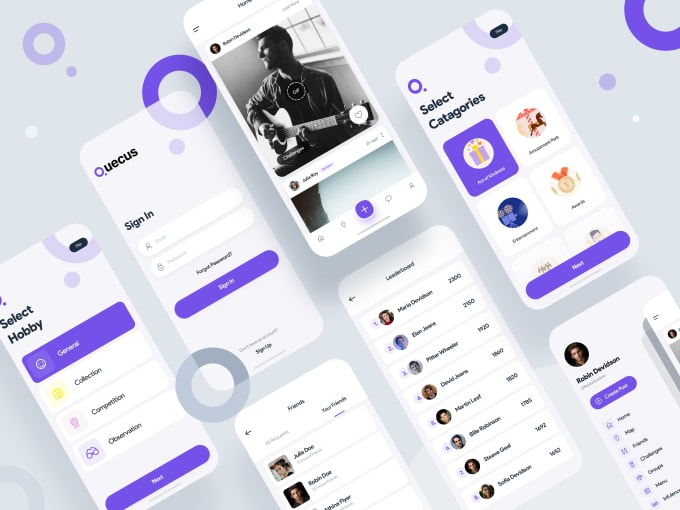 I will design creative, mobile app ui ux for android and ios