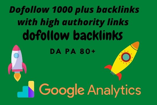 I Will Make Dofollow Backlinks With Trusted Authority Links