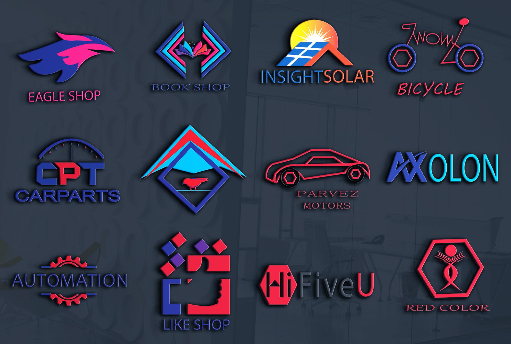 I will design creative modern,minimal, professional business logo
