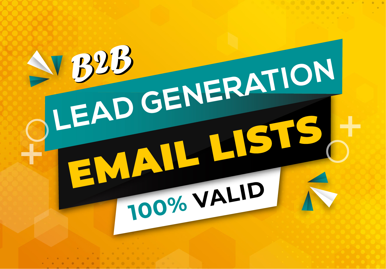 I will do b2b Linkedin lead generation and targeted email lists