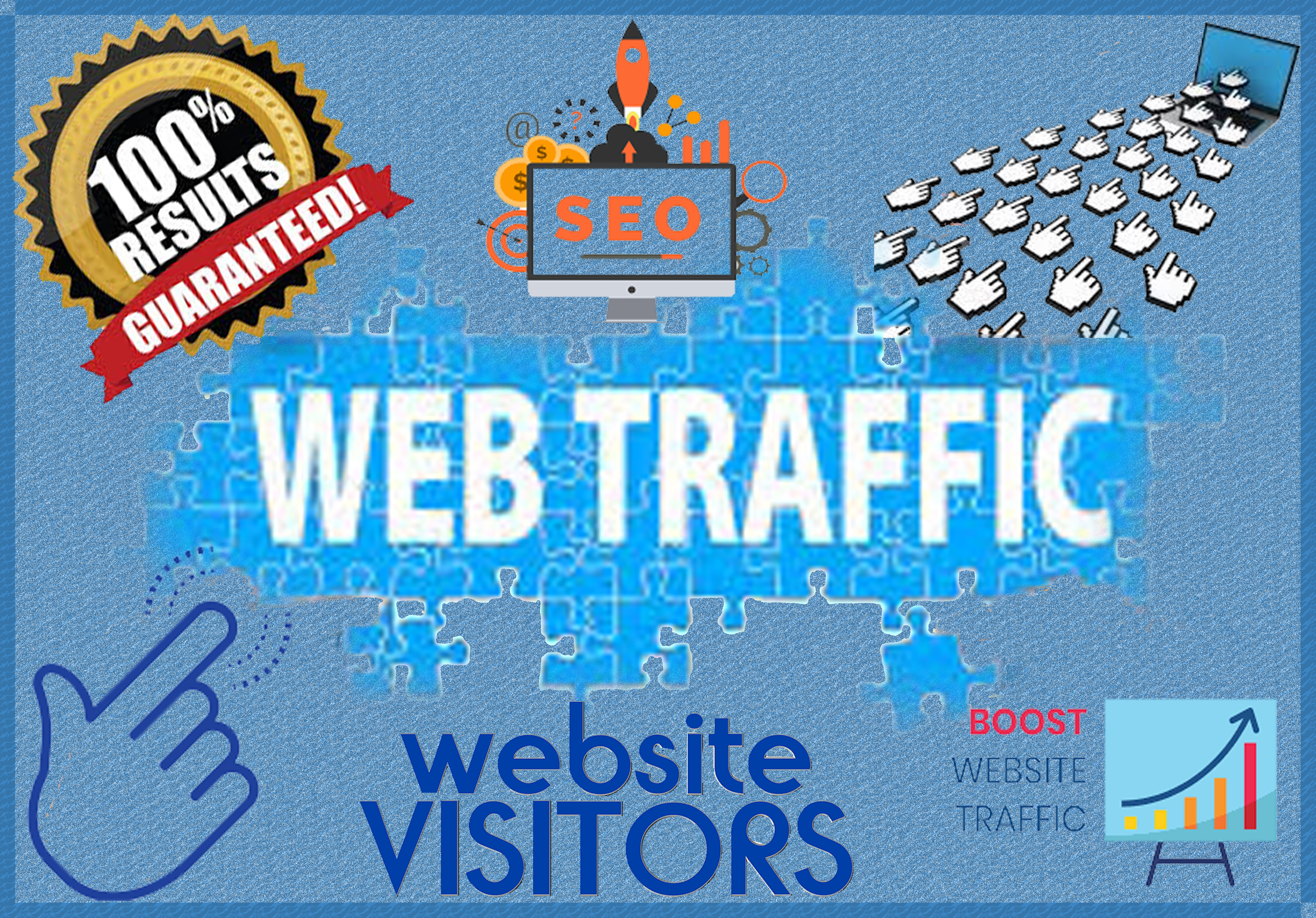 7,000+ WEB TRAFFIC High Quality Organic USA Traffic Visitors Worldwide