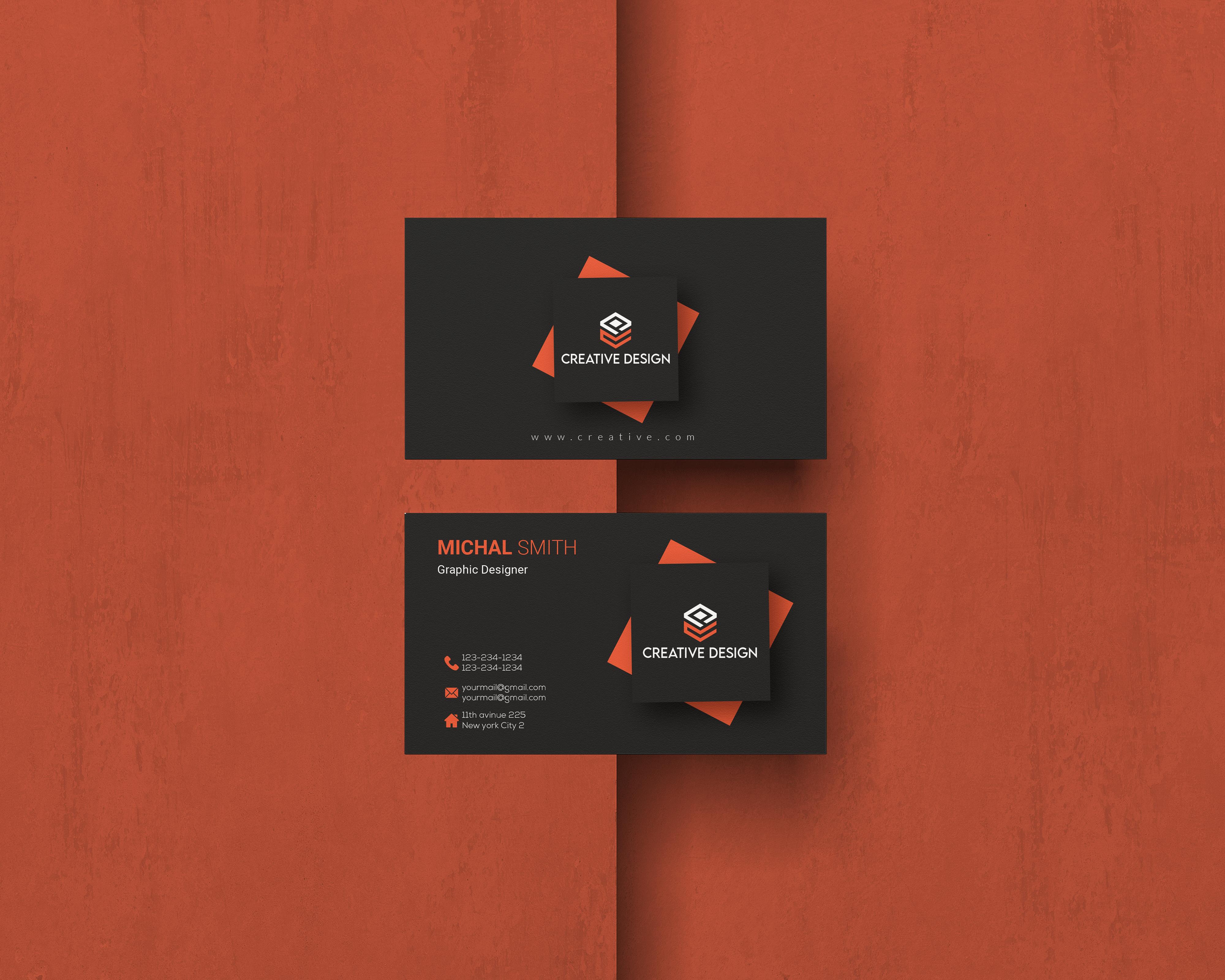 I will Do Unique Custom Design Business Card