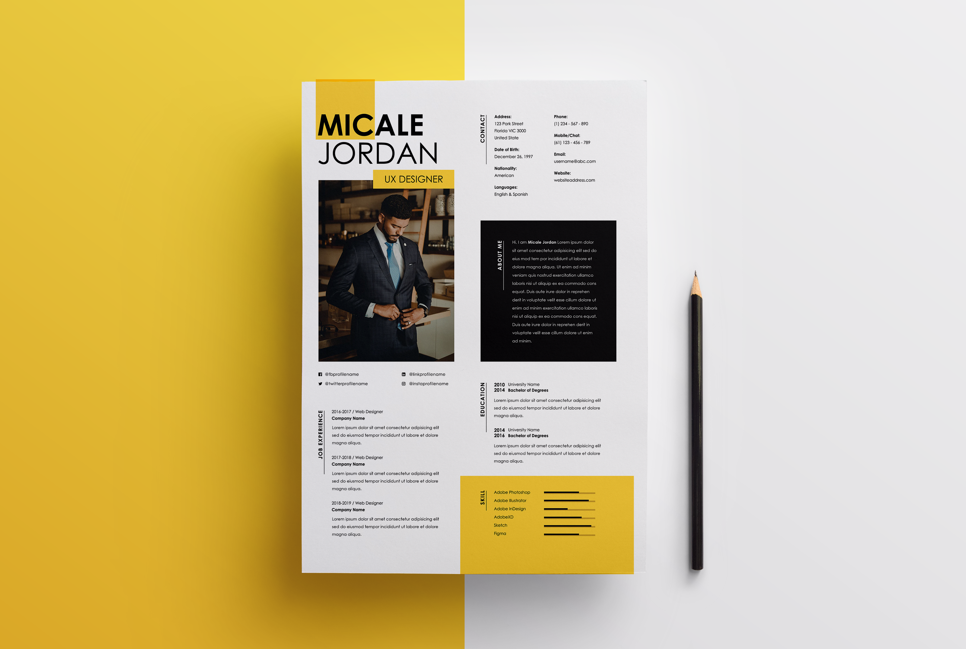 I will perform a professional resume and CV design or edit