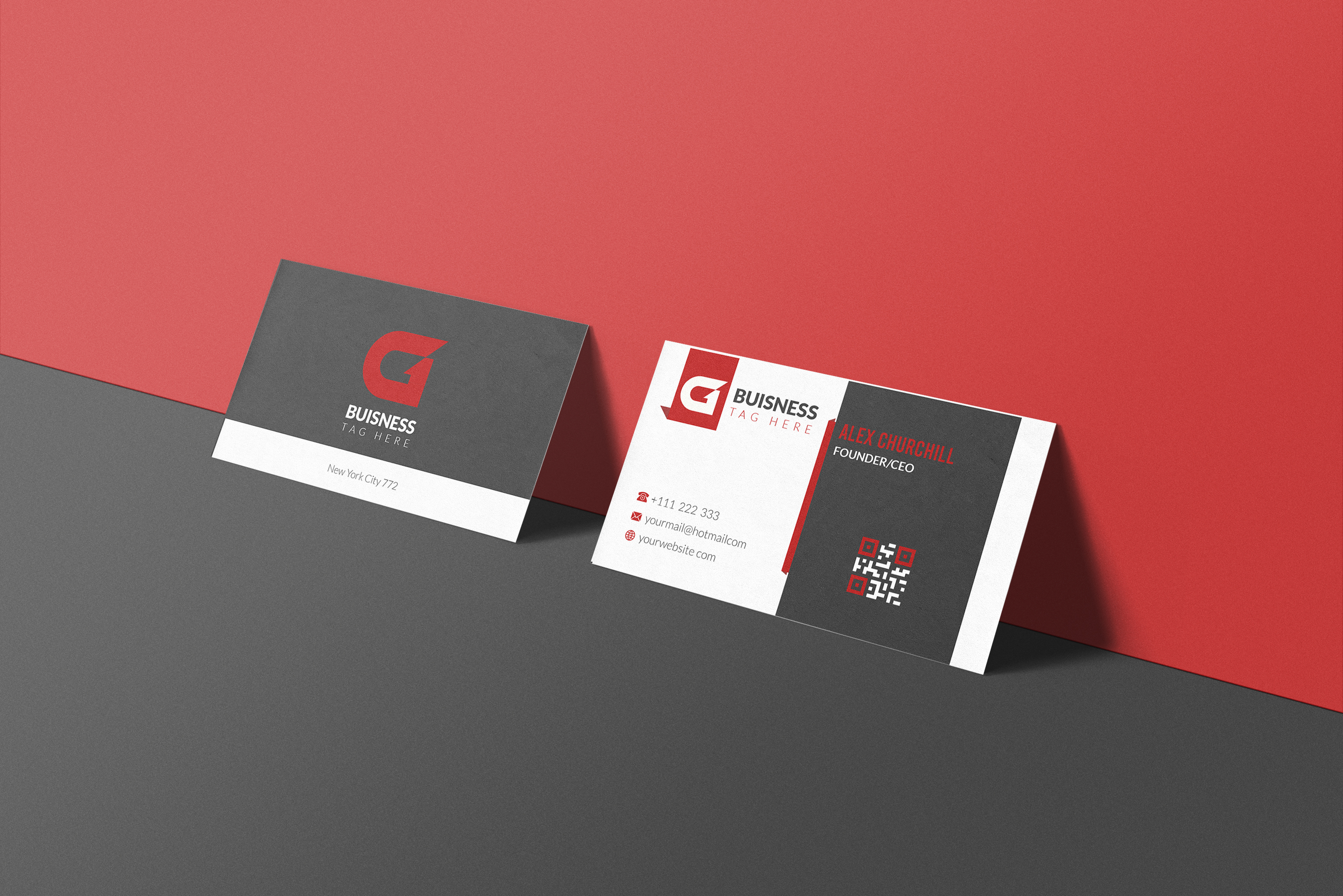 I will Do Unique Custom Design Business Card