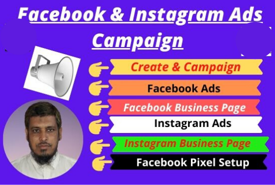 I will promote your Facebook & Instagram Marketing