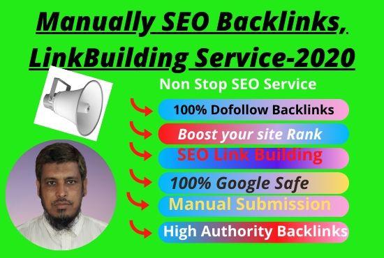 I will build 60 best Organic SEO backlinks link building