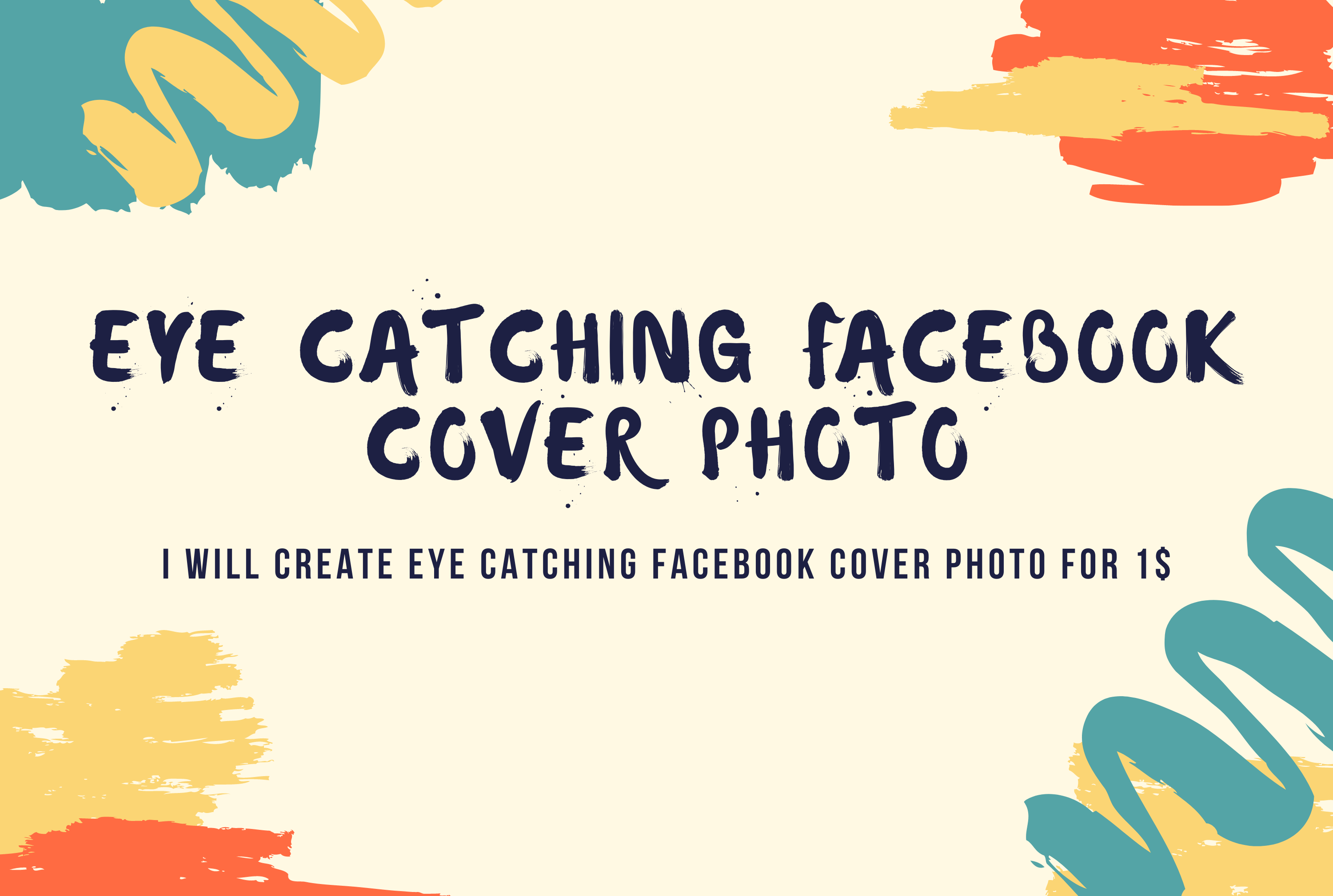 I will create eye catching facebook cover photo