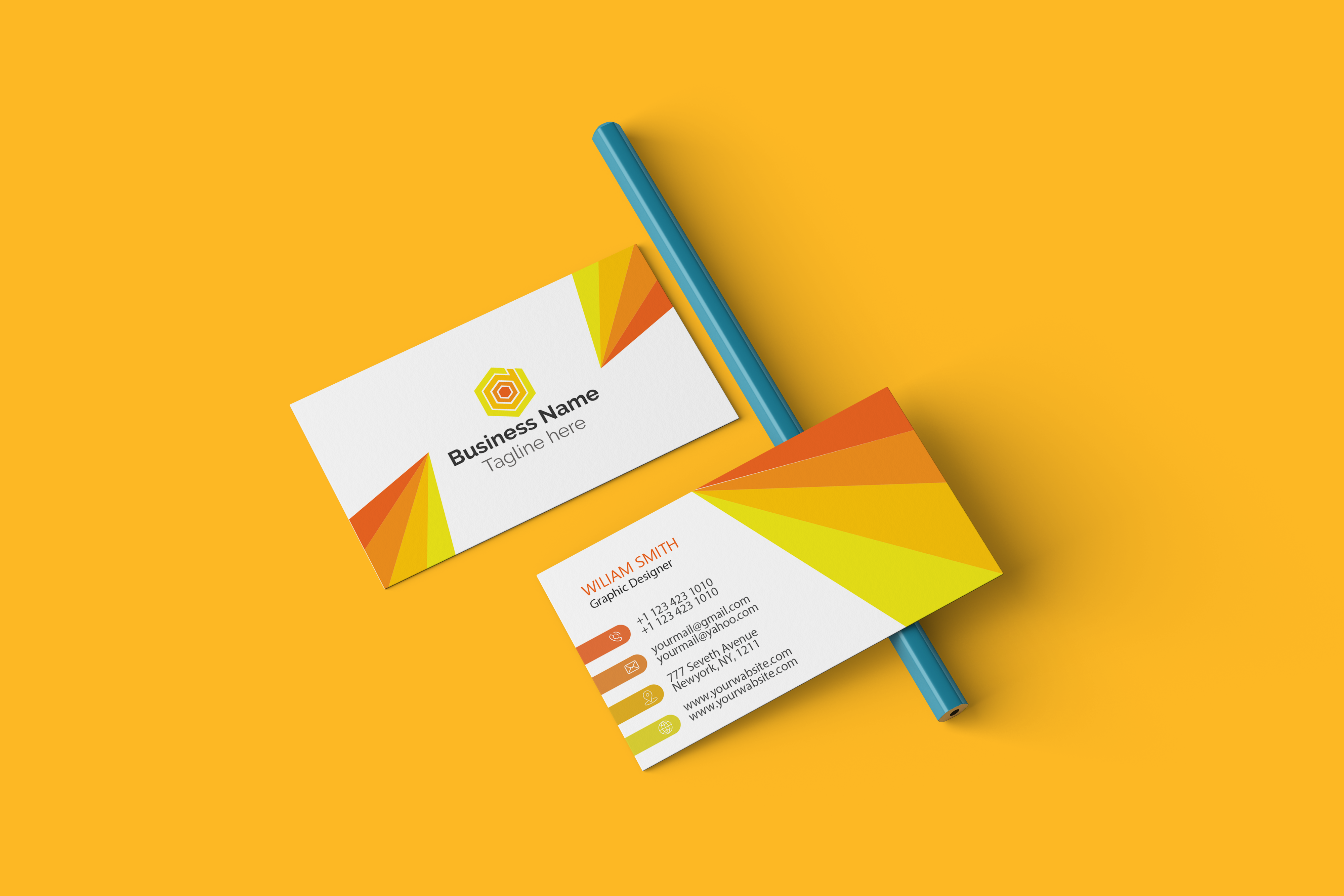 I will do Colour Full business card design for you