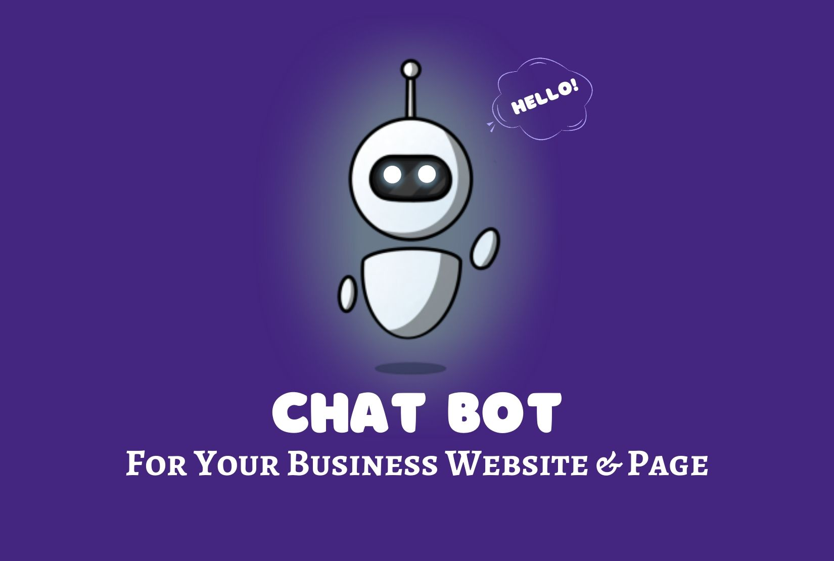 Intelligent chatbot for your messenger and website