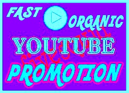 Very fast real and active organic Youtube video promotion.