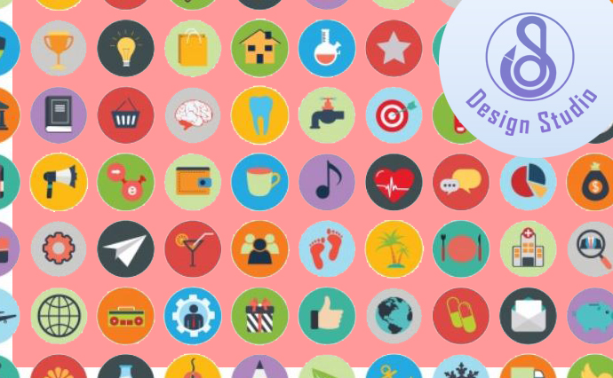 I will design flat and attractive icons