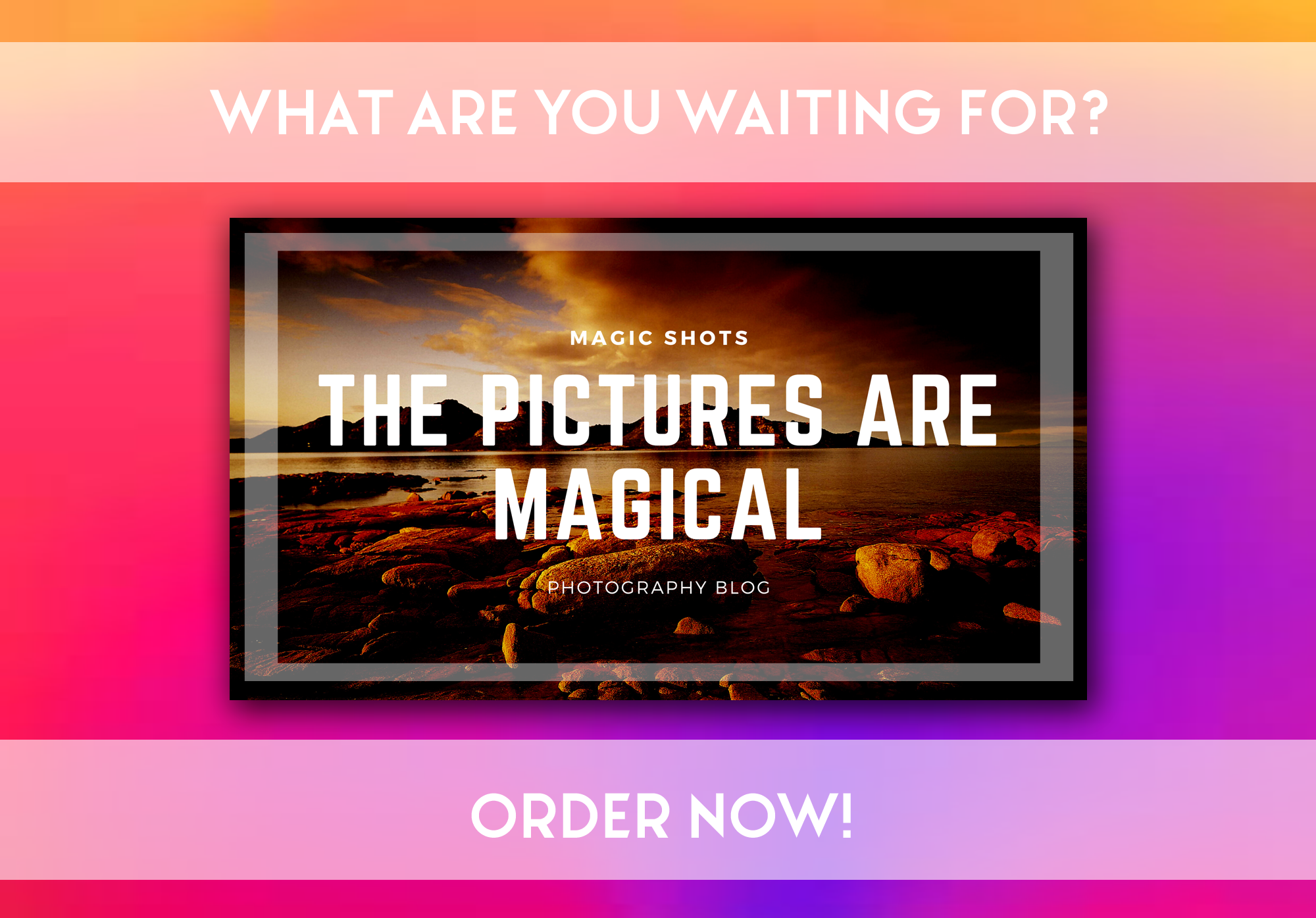 I will make great post banners/images for any blog!