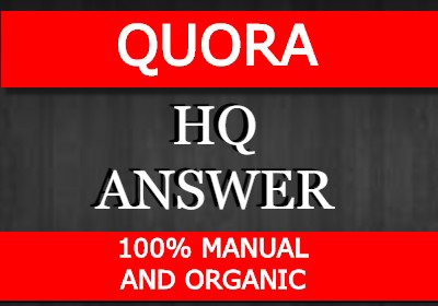 Promote your website by 10 organic high quality answer posting